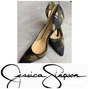 Jessica Simpson Camo Heels (Parelle)